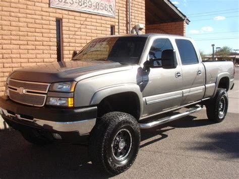 how to sell used cars 2006 chevrolet silverado 3500 engine control sell used 2006 chevy 2500hd crew cab lbz 4x4 lifted duramax in phoenix arizona united states