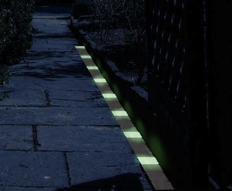 glow in the paint exterior glow in the path markers glow home and markers