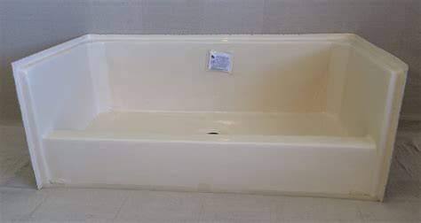 how to tell if a bathtub is fiberglass or acrylic fiberglass shower pan paint shower pan paint shower pan fiberglass tray image the