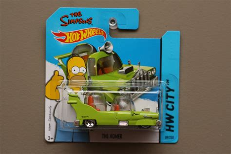 Wheels The Simpsons The Homer wheels 2014 hw city the homer the simpsons green