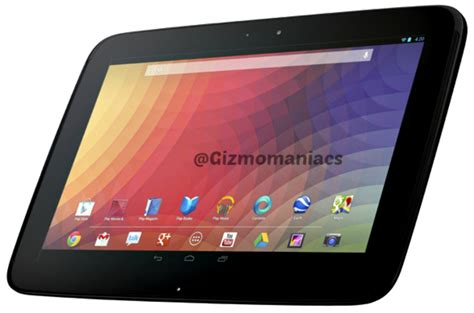 Tablet Nexus 10 nexus 10 next generation tablet gizmomaniacs