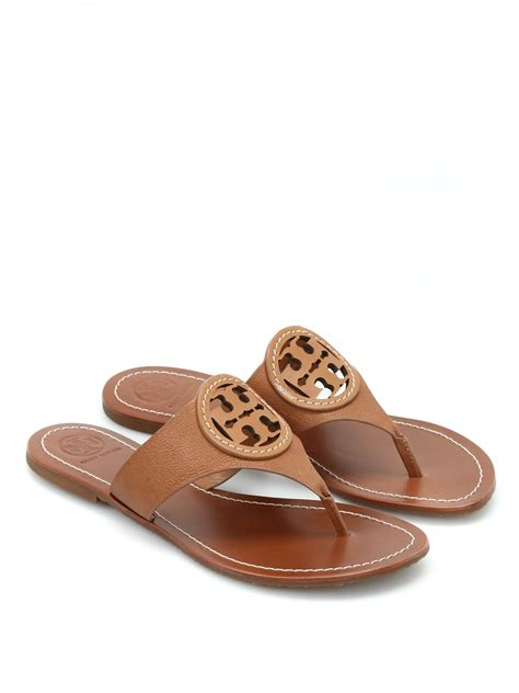 Toryburch Toryburch Original 10 louisa leather sandals by burch flip flops