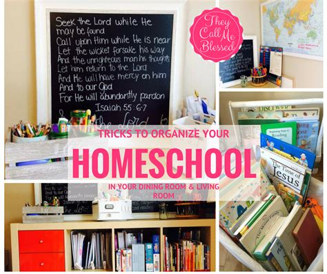 home organization tips and tricks the natural homeschool 7 tricks to organize your homeschool in your dining room