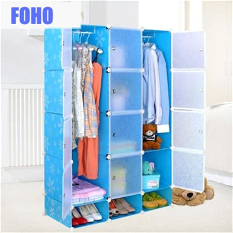 Plastic In Closet by Diy Assemble Plastic Portable Closet Wardrobe Cabinet