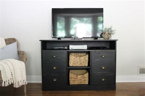 pottery barn inspired tv stand buildsomething