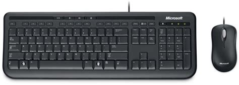 Keyboard Microsoft desktop 600 wired keyboard and mouse uk layout