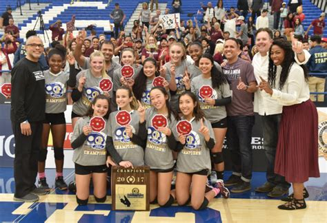 cif southern section volleyball loma linda academy sweeps notre dame for division 6 girls