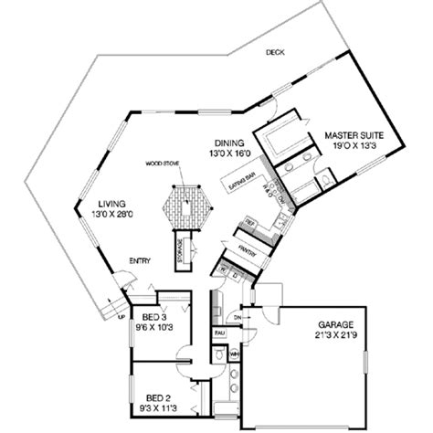 v shaped house plans house plan 3 beds 2 00 baths 1883 sq ft plan 60 138