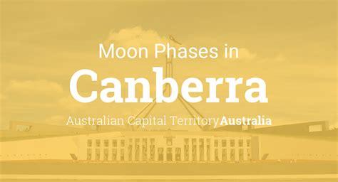 moon phases  lunar calendar  canberra australian capital territory australia