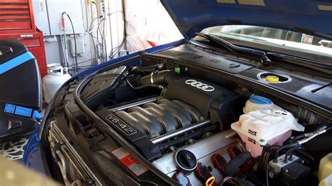 audi b6 engine audi s4 4 2l v8 b6 2005 cold start cold engine timing