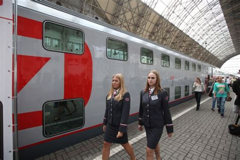 moscow to st petersburg train double decker train starts operating on moscow st