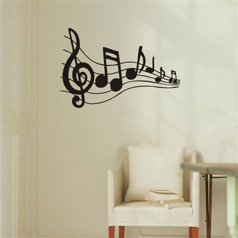 music decals for bedroom note music wall art wall stickers black music decal