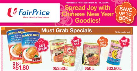 ntuc new year food golden chef skylight new moon abalone up to 50