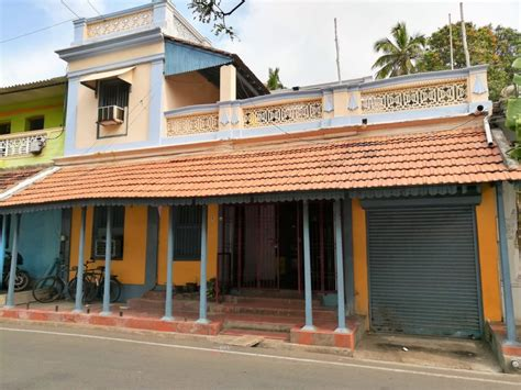 a photo feature of pondicherry heritage town and the tamil