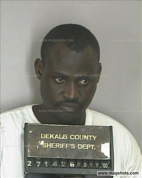 Dekalb Arrest Records Dukuray Saddi Mugshot Dukuray Saddi Arrest Dekalb County Ga Booked For Failure