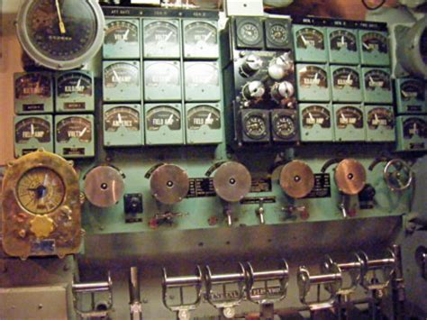 maneuvering room uss bowfin submarine