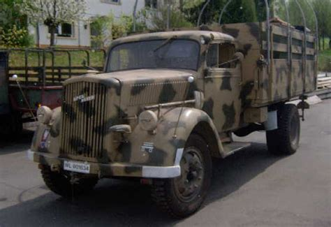 opel truck ww2 opel blitz truck ww2 german vehicles hmvf historic