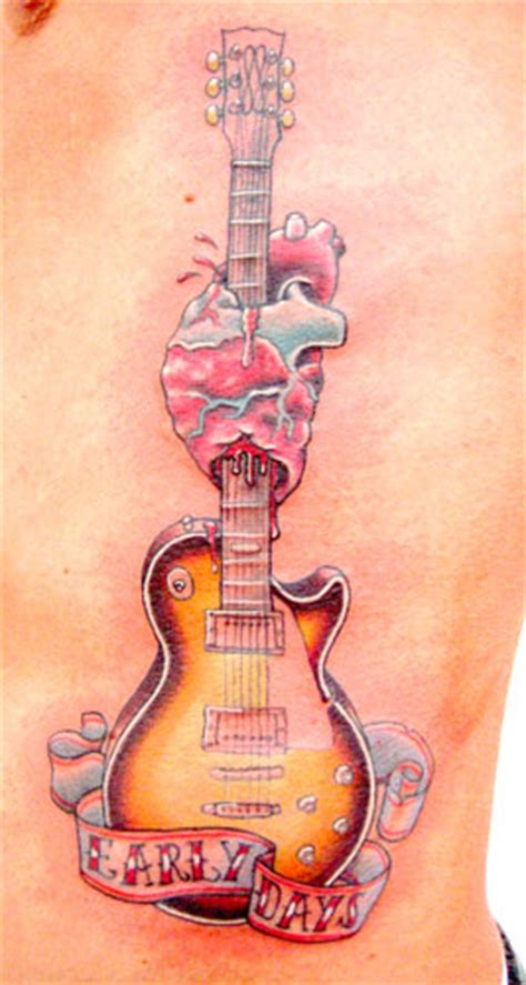 tattooed heart ultimate guitar paradise tattoo gathering