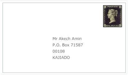 letter address format po box global sourcebook for international data management