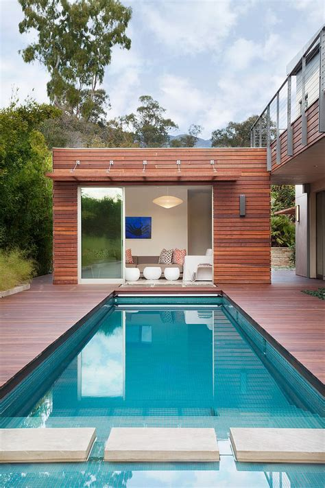 small pool house 25 pool houses to complete your dream backyard retreat