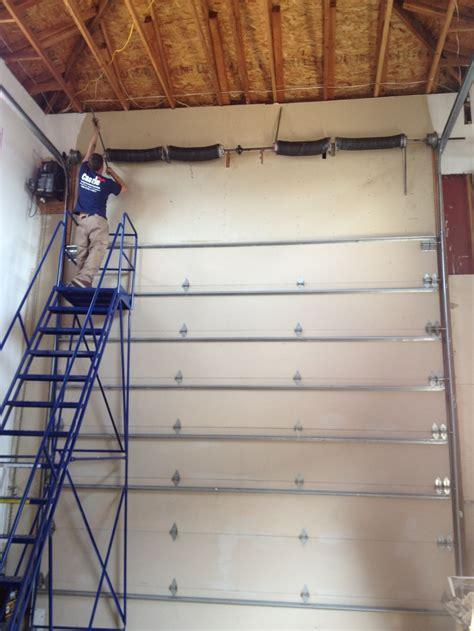 Pin By Castle Improvements Garage Doors On Garage Door Chamberlain Garage Door Springs