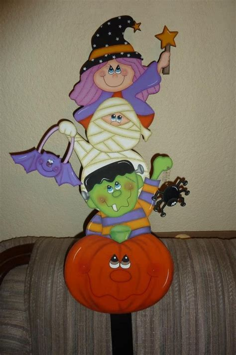imagenes halloween madera country 343 best halloween tole painting images on pinterest