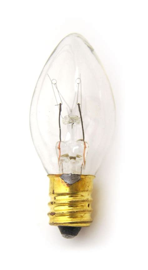 c7 incandescent night light replacement bulb delphi glass