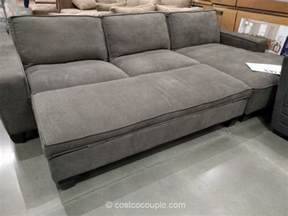 Costco Sleeper Sofa With Chaise Fabric Chaise Sofa With Storage Ottoman