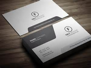 Template Business Cards Free by Clean Monochrome Business Card Template 187 Free