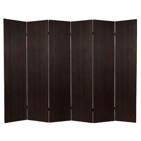 cheap room dividers walmart screen 6 ft frameless bamboo room divider