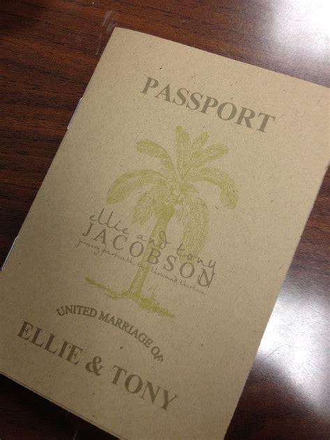 15 best ideas about passport invitations on