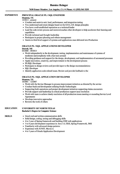 extraordinary design ideas sql developer resume 11 sample resume