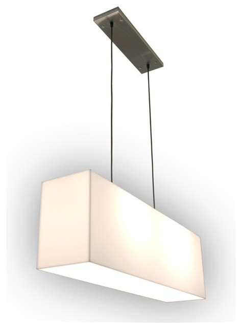 Hanging Bathroom Light Gus White Hanging Acrylic L Modern Bathroom Vanity Lighting Los Angeles By Viesso