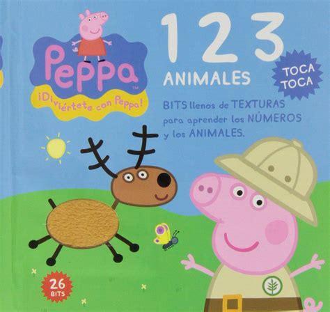 libro peppa pig feliz cumpleaos bits texturas peppa pig 123 vv aa libro en papel 9788415857488