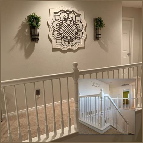 upstairs hallway decorations staircase decor stair wall