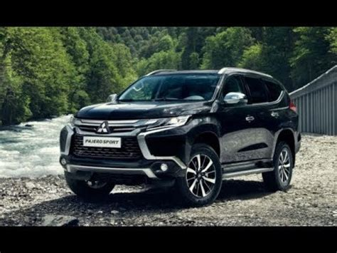 mitsubishi pajero sport 2018 2018 mitsubishi pajero sport facelift reviews youtube