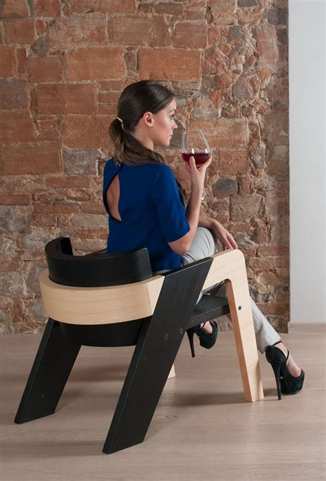 elegant self assembly io chair designed for introspection easy to assemble io chair for an utmost personal