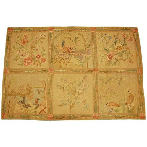 schumacher rugs mid 20th century chainstitch area rug by schumacher co circa 1930 1940 for sale at 1stdibs