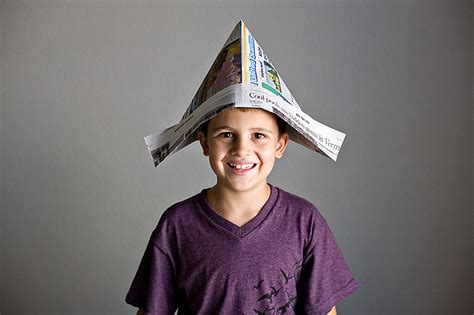 Paper Hat - 21 creative ways to make a hat out of a newspaper guide