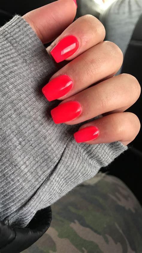 summer acrylic short nails designs    nails