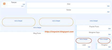 cara membuat outline kti cara membuat 2 kolom widget di postingan sidebar