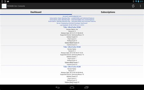 play store dev console romdashboard developer console android apps on play