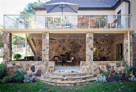 two story deck home improvement expert calls on deck waterproofing expert