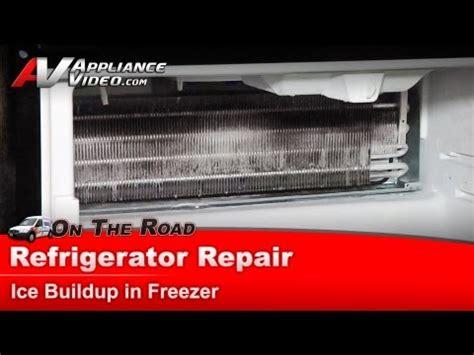 Kitchenaid Refrigerator Buildup Maytag Refrigerator Repair Build Up In Freezer