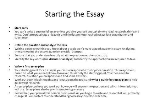 can you start a research paper with a quote how to prepare and present high quality essays ppt