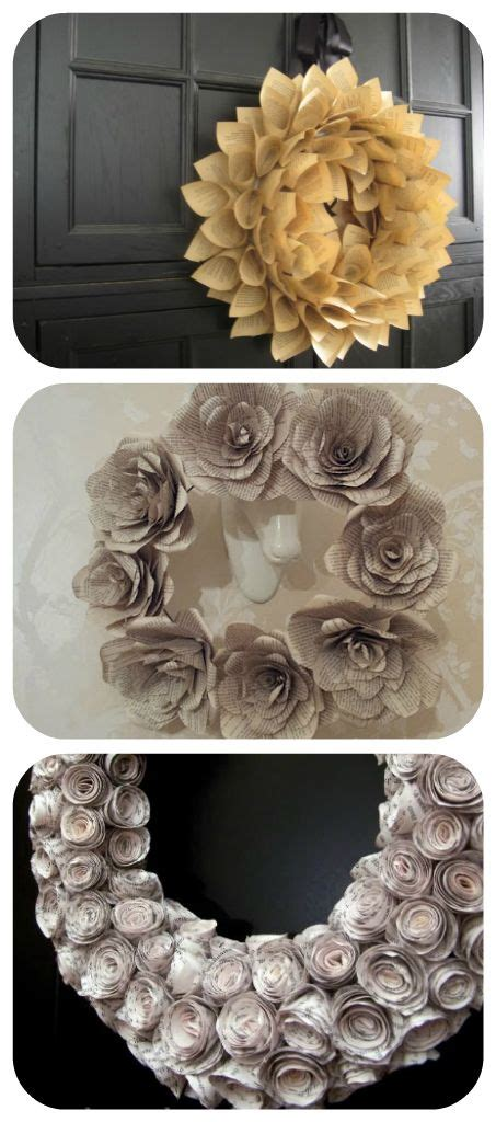 rolled paper flower wreath tutorial 24 best rolled paper wreaths images on pinterest old