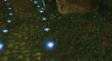 faretti led da giardino faretti segnapasso a led per il giardino fai da te in
