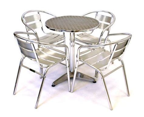 Cheap Kitchen Sets Furniture Aluminium Bistro Furniture Cafe Table And Chairs Cheap