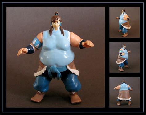 korra giant sumo custom figure commission
