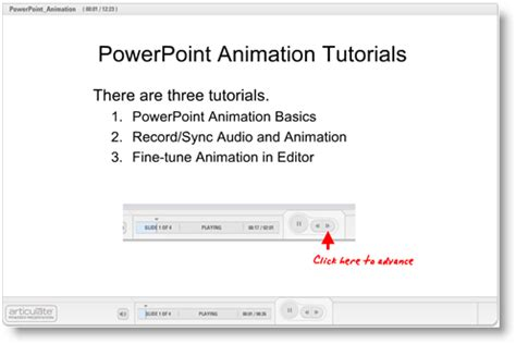 tutorial powerpoint animation articulate 101 add animations to your next e learning